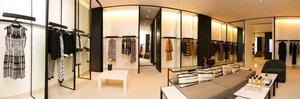 Climatisation boutique de mode