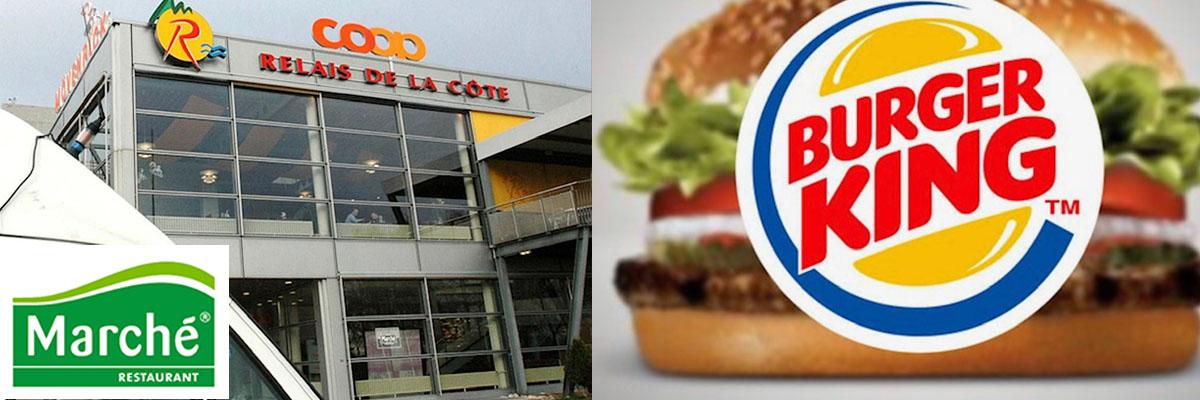 Burger King et Marché