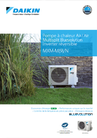Daikin pompe à chaleur air/air Multisplit Bluevolution
