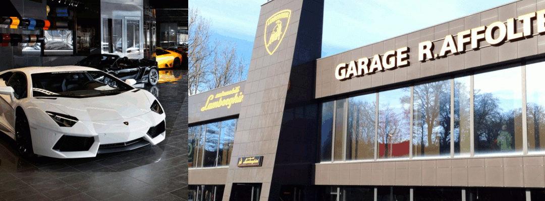 Travaux de chauffage, climatisation et ventilation des agences Lamborghini du Jura et de Genève