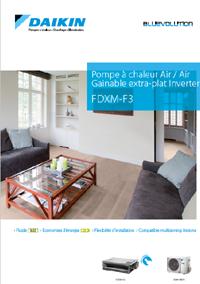 Daikin PAC Air/Air Gainable extra-plat inverter