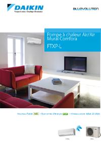 Daikin PAC Air/Air Mural Comfora